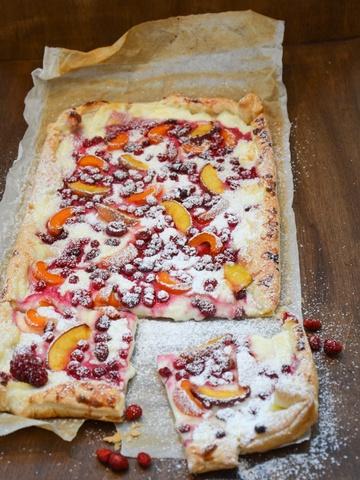 Rezept Sommerliche Fruchtschnitte