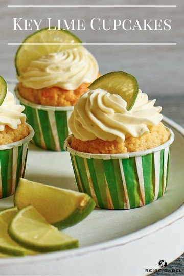 Rezept Sommerliche Key Lime Cupcakes
