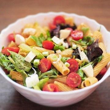 Rezept Sommerlicher Nudelsalat