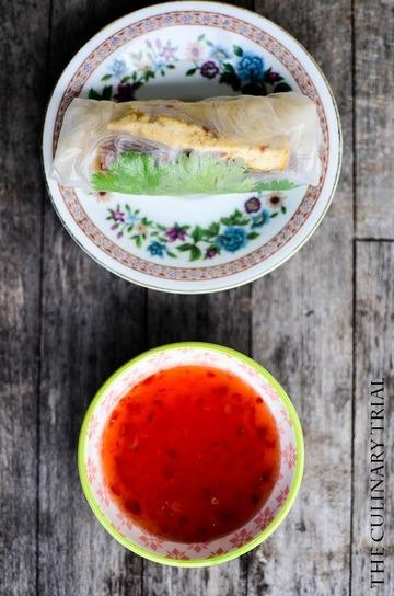 Rezept Sommerrollen mit Tofu und Koriander