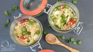 Rezept Sommersalat mit Quinoa