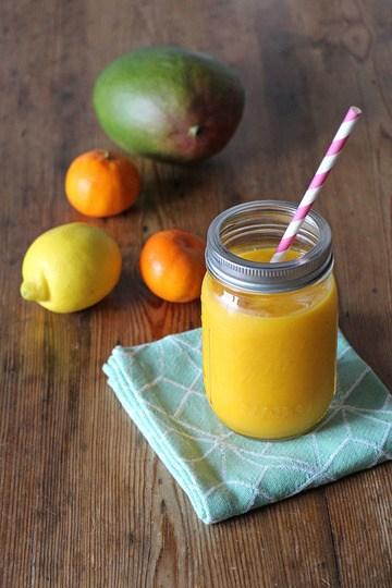 Rezept Sonniger Smoothie mit Zitrusfrüchten