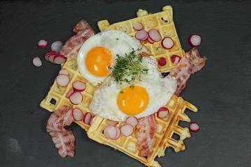 Rezept Sonntagsfrühstückswaffeln