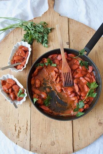 Rezept Sosis Bandari - Currywurst nach persischer Art