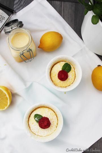 Rezept Soufflé mit Lemon Curd