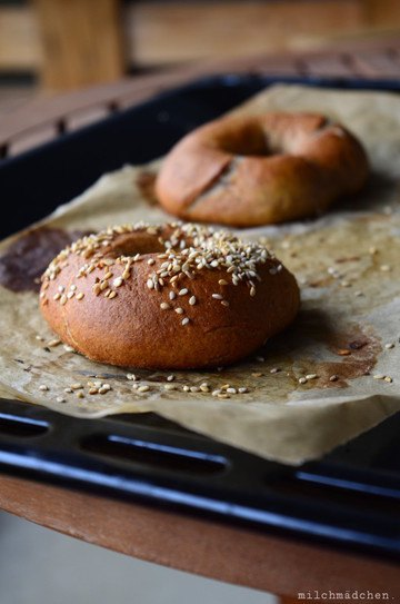 Rezept Sourdough Bagels