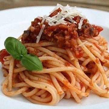 Rezept Spagetti mit Pilz-Bolo
