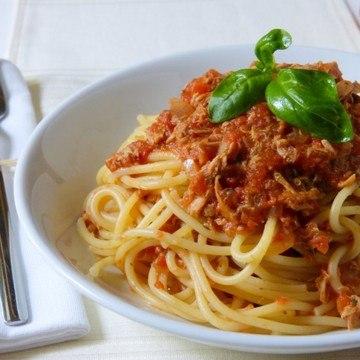 Rezept Spaghetti al tonno
