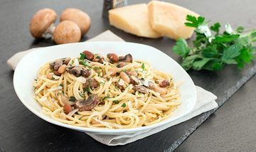 Rezept Spaghetti alla montanara