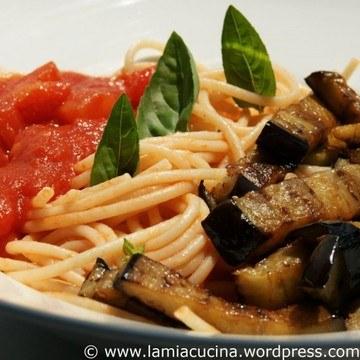 Rezept Spaghetti alla Norma
