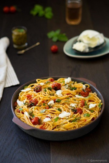 Rezept Spaghetti alla Sorrentina