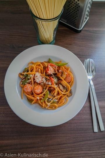 Rezept Spaghetti auf Japanisch
