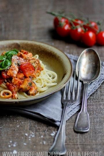 Rezept Spaghetti Frutti di Mare