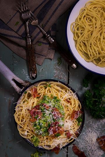 Rezept Spaghetti mit Avocadopesto