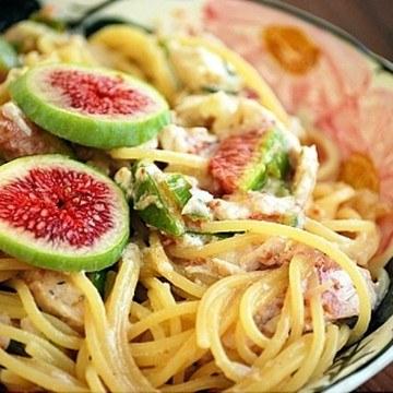 Rezept Spaghetti mit Feigen No2