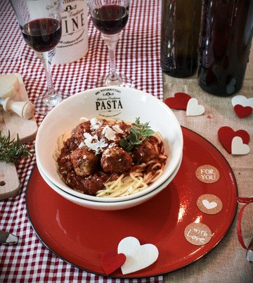 Rezept Spaghetti mit Polpette in Tomaten-Sugo