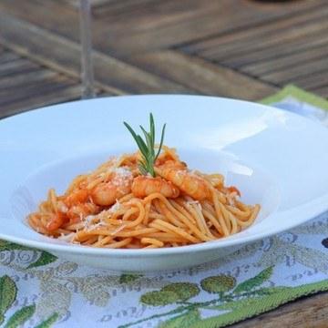 Rezept Spaghetti mit Scampi