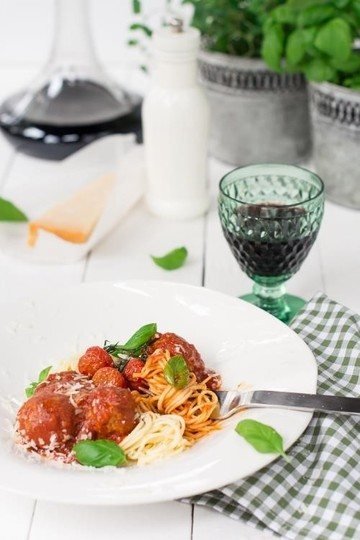 Rezept Spaghetti Polpette