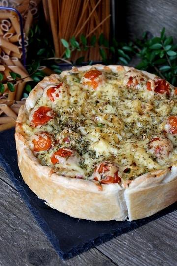 Rezept Spaghetti Quiche