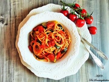Rezept Spaghetti Ratatouille