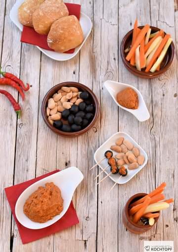 Rezept Spanische Snackcreme