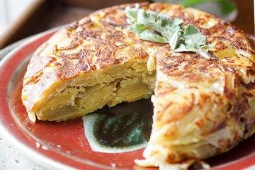 Rezept Spanische Tortilla (Spanisches Kartoffel-Omelette)