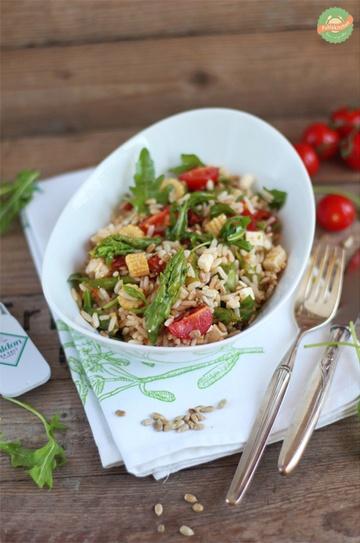 Rezept Spargel-Reis-Salat