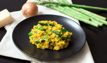Rezept Spargel-Risotto Milanese
