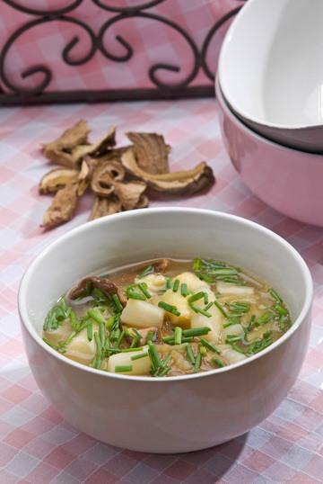 Rezept Spargel-Steinpilz-Suppe