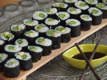 Rezept Spargel - Sushi