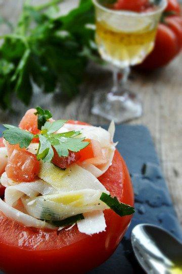 Rezept Spargel-Tomaten-Salat mit würzigem Feta