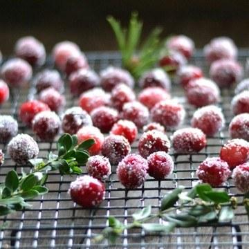 Rezept Sparkling Cranberries