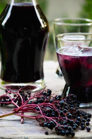 Rezept Sparkling Elderberry