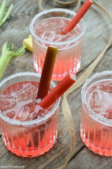 Rezept Sparkling Rhubarb