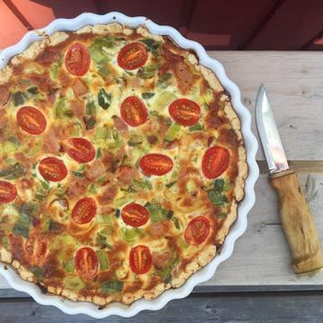 Rezept Speck-Tomaten-Quiche