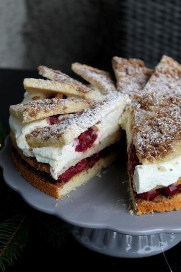 Rezept Spekulatius-Kirsch-Torte