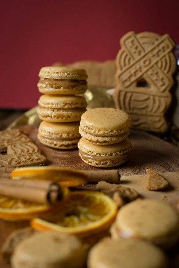 Rezept Spekulatius Macarons
