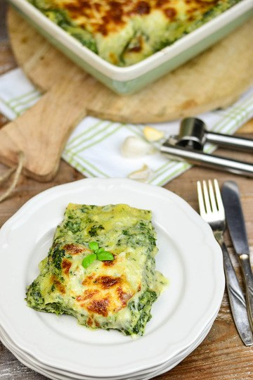 Rezept Spinat Gorgonzola Lasagne