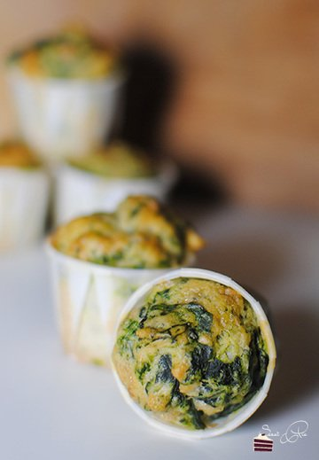 Rezept Spinat Kräuter Muffins