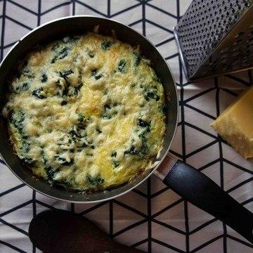 Rezept Spinat Omelett