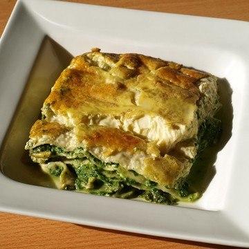 Rezept Spinatlasagne mit Gorgonzola
