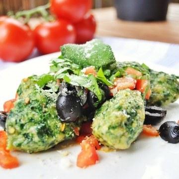 Rezept Spinatnocken mediterran