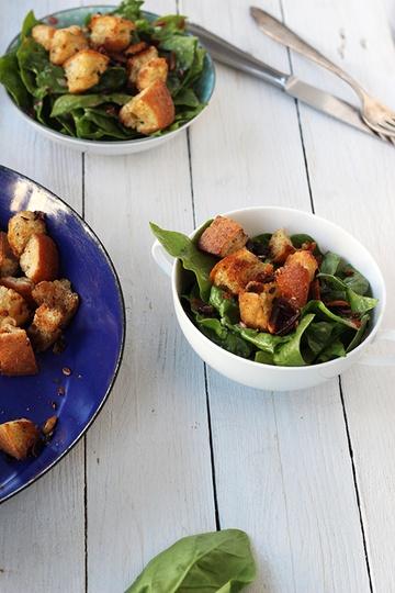 Rezept Spinatsalat mit Datteln