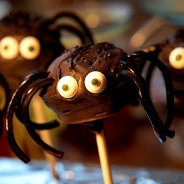 Rezept Spinnen-Cakepops