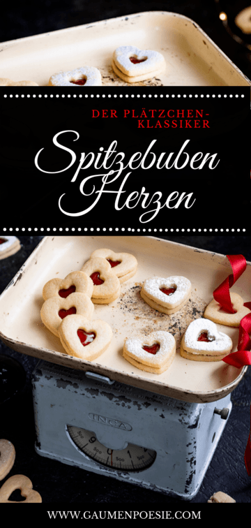 Rezept Spitzbuben-Herzen