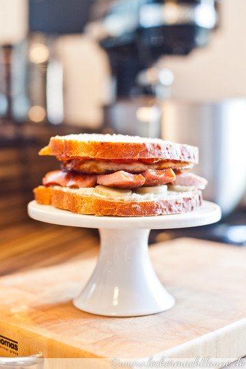 Rezept Spontanes Frühstücks-Sandwich