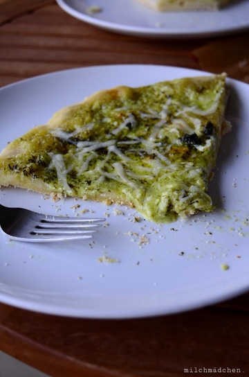 Rezept Spring Cream Pizza