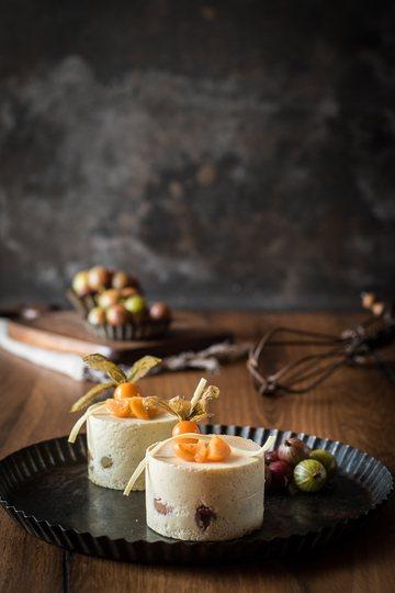 Rezept Stachelbeertörtchen mit Vanillemousse