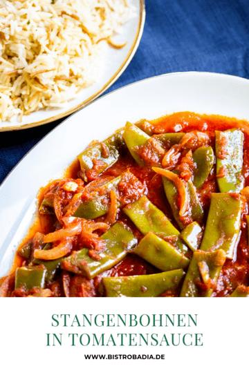 Rezept Stangenbohnen in Tomatensauce – Lubjeh