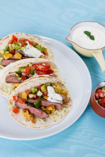 Rezept Steak Tacos